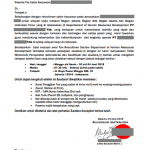 Ciri-ciri undangan wawancara palsu by Jobstreet