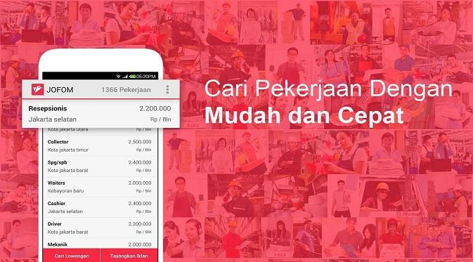 Aplikasi Lowongan Kerja App Store dan Play Store