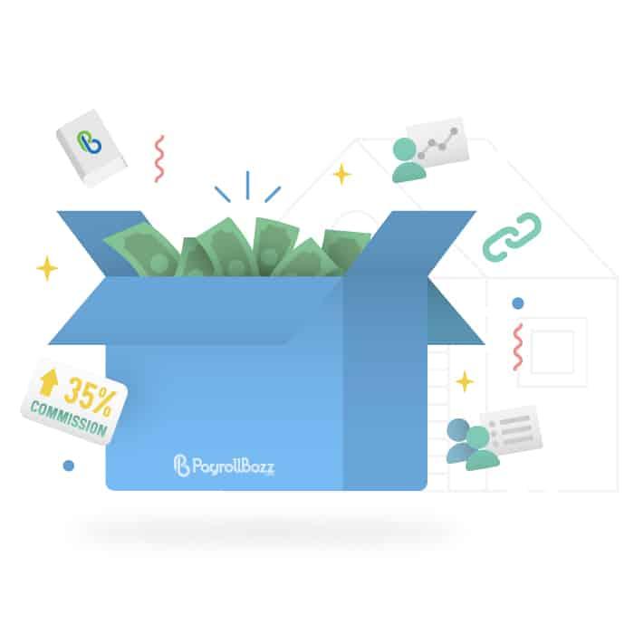 #MenjemputRezeki2019 Jadi affiliate partnernya PayrollBozz, komisi hingga 35%