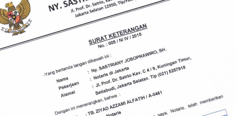 Contoh Surat Keterangan Kerja Untuk Kpr Visa Dan Lainnya